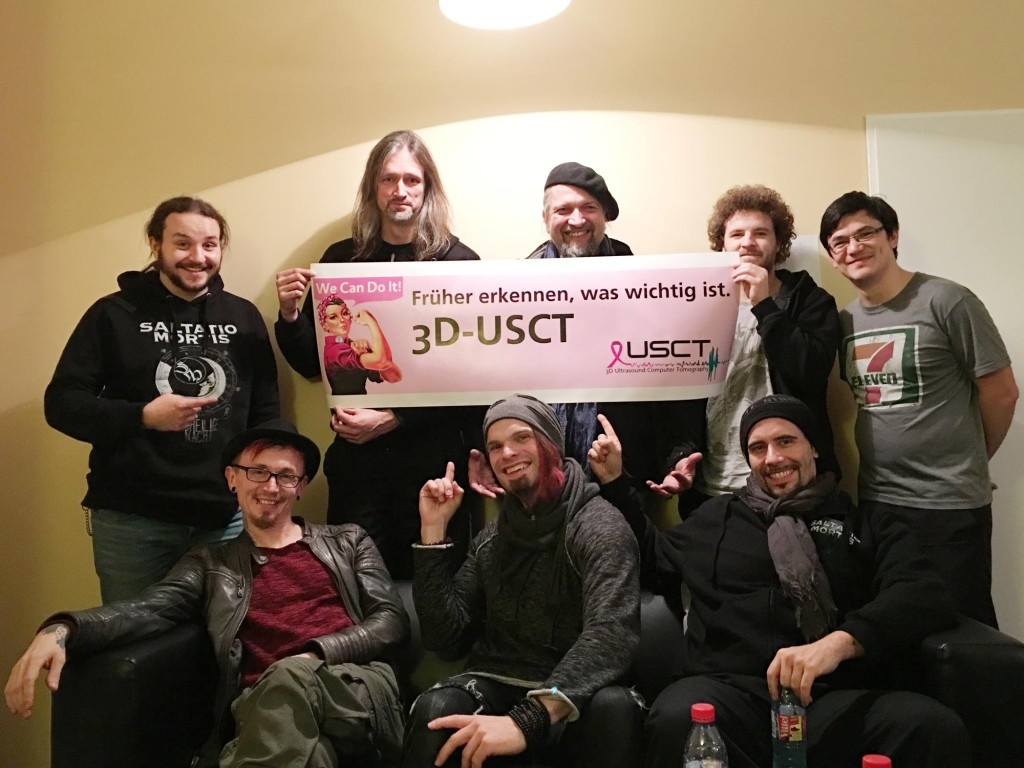 Saltatio Mortis unterstützt das Projekt 3D-USCT!